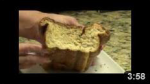 Cave MAn Zuchini Bread Home Made