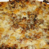 White Sourdough Lasagna with fresh vegetables, fresh home-made Pasta & Cheese, Farmstead Sausage or Farmstead Grass-Fed Beef