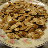 Sprouted Roasted Pumpkin Seeds
