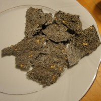 Chia Chips; zero digestible carbs, Paleo, Gluten Free, Low Carb