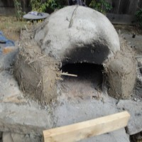 Cob Oven Thermal Layer