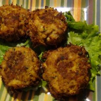 E-Z, Baked Crab Cakes, Paleo, Gluten-free, Low Carb
